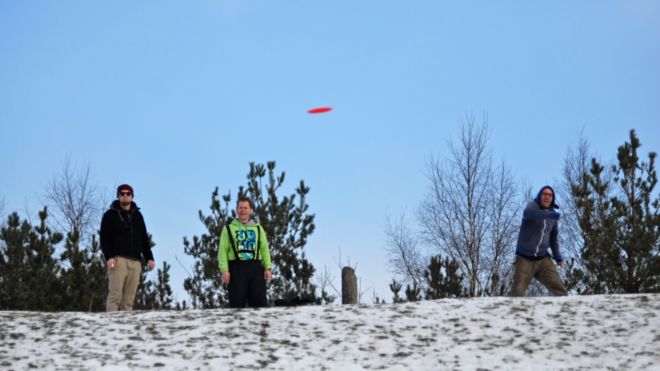 Winter golf is fun, but I am often surprised how different discs fly when it is cold.