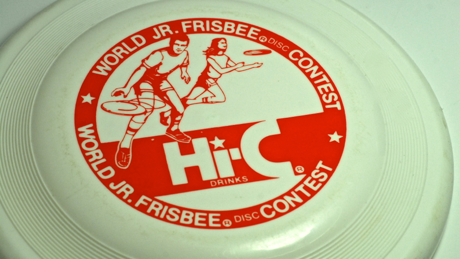 World Junior Frisbee Disc Contest. Way back in time.