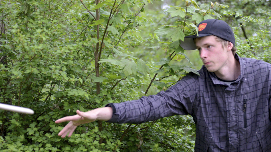 European Disc Golf Champion Simon Lizotte (Germany).