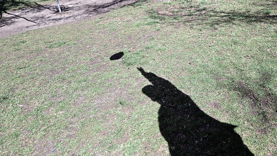 Shadow putter.